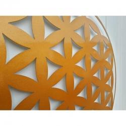 decoration-murale-fleur-de-vie-metallique-en-couleurs