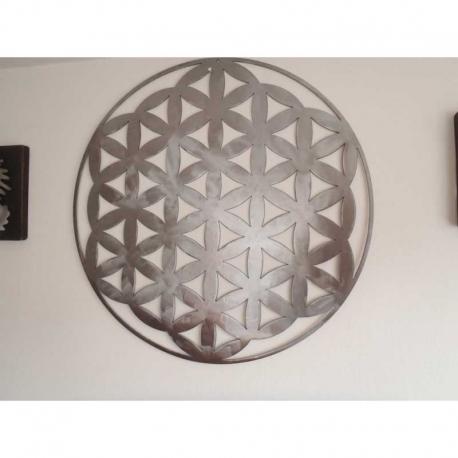 decoration-murale-sculptee-en-acier-brosse