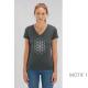 t-shirt-bio-gris-fleur-de-vie-femme-col-en-v