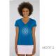 t-shirt-bio-bleu-fleur-de-vie-femme-col-en-v