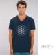 t-shirt-bio-bleu-fleur-de-vie-homme-col-en-v