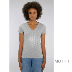 t-shirt-bio-gris-clair-fleur-de-vie-femme-col-en-v
